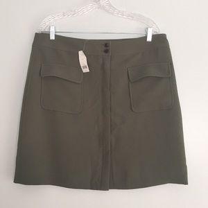 Banana Republic Olive Green Skirt